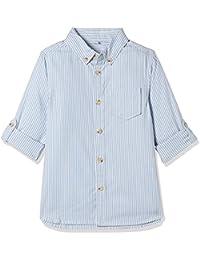 Marks & Spencer Baby Boys' Striped Regular Fit Shirt