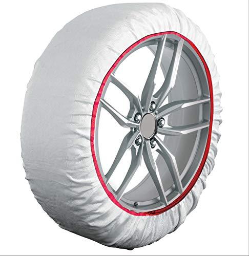 HABILL-AUTO Chaussettes Neige Textile Premium 235 55 R20-245 45 R20-255 45 R20-255 50 R20