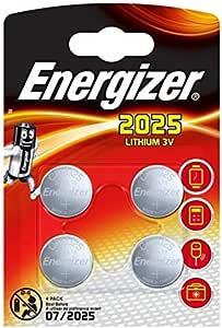 Energizer Cr2025 Batterien Lithium Knopfzelle 4 Stück Elektronik