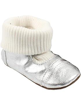 EnFant Slipper Sock Knitted, Unisex, Lammleder Lernlaufschuh