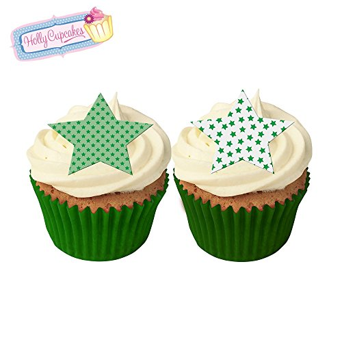 12-mixed-green-star-cake-decorations-plus-a-free-gift-of-12-matching-smaller-star-toppers