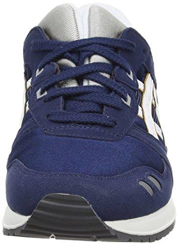 Asics - Gel-lyte Iii Gs, Sneaker basse Unisex – Adulto Blu (Navy/White 5001)