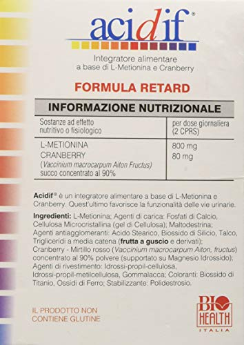 Zoom IMG-3 acidif di biohealth italia integratore
