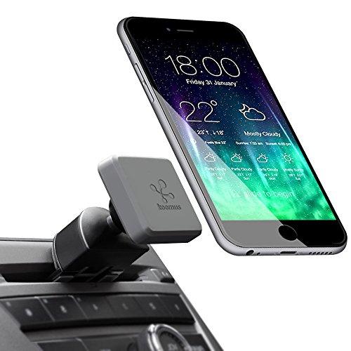 Koomus CD Slot-M Pro Universal CD-Schlitz Magnetisch Cradle-Less KFZ Halterung für Smartphone -