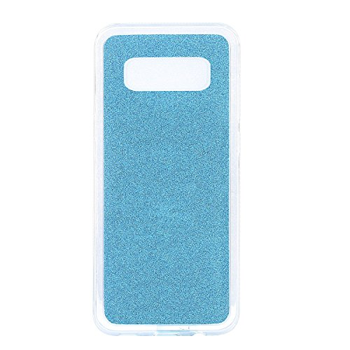 Coque Galaxy Note 8 Shiny,Coque Rigide pour Samsung Galaxy Note 8,Ekakashop Creative Transparente Clair Diamant Violet Brillant Cover Bling Strass Soft TPU Silicone Crystal Clair Souple Gel Housse de  Vert Clair