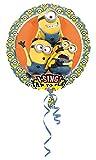 Amscan 3492801 Folienballon Sing-A-Tune Ich einfach Unverbesserlich-Minions