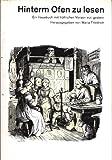 Image de Hinterm Ofen zu lesen. Großdruck. Ein Hausbuch mit fröhlichen Versen von gestern.