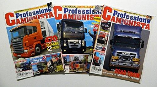 Professione camionista (lotto di 3 numeri: gennaio, marzo e maggio 2005)