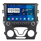 Roverone Android System 9 Zoll Autoradio GPS für Ford Mondeo Fusion 2013 2014 2015 2016 mit Navigation Radio Stereo DVD Bluetooth SD USB Touch Bildschirm