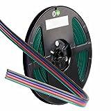 RGB Kabel, 4-polig, Farbkennzeichnung, 4x0,5mm², 1 Bund = 10m; LED Band, LED Stripe, LED Strip - hochwertiges Anschlussmaterial für LED Lichtbänder von Isolicht
