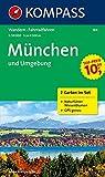 München und Umgebung: Wander- und Biketouren. 2-teiliges Set mit Naturführer. GPS-genau. 1 : 50 000
