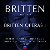 Britten conducts Britten: Opera Vol.1 (8 CDs)