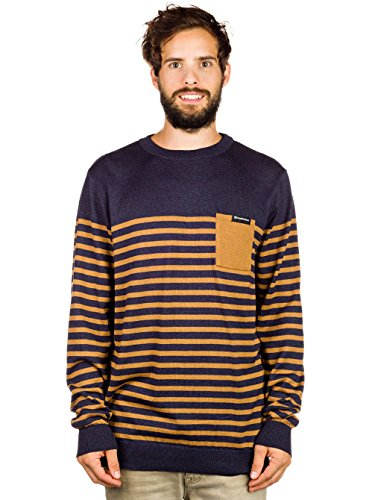 Horsefeathers–Sweater Magnetic blu navy