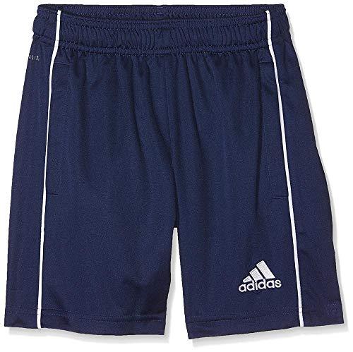 adidas Kinder CORE18 TR Y Shorts CORE18 TR Y, Blau (Dark Blue/White), 176 (Herstellergröße: 176) (Adidas Fußball Für Kinder)
