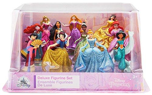 Disney Store Set de Juego Exclusivo Figuritas Princesas Set de 11 Piezas