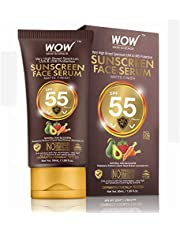 WOW Skin Science Matte Finish Sunscreen Serum SPF 55 PA wit