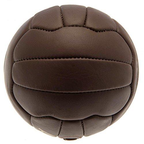 Arsenal FC offizieller Retro Heritage Ball (Größe 5) (Braun) -
