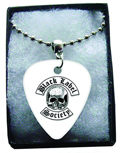 black-label-society-metal-guitar-pick-necklace-ball-chain-collier-mdiator