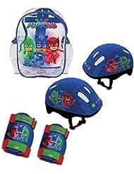 PJ Masks OPJM004 Sac avec Set de Protection et Casque