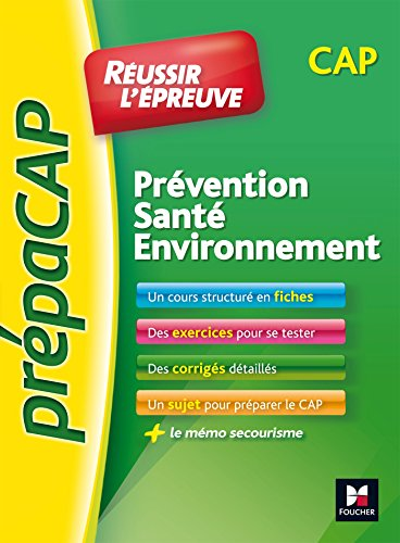 PREPACAP - Prvention Sant Environnement - CAP - N1