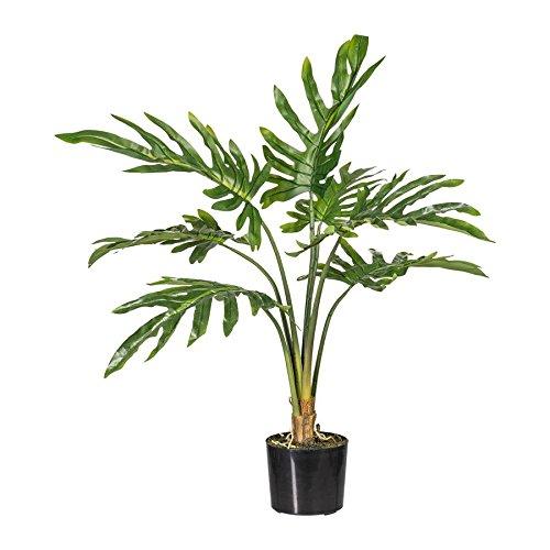 Philodendron, ca 90cm grün, im Topf, Kunstpflanze (994929265994)