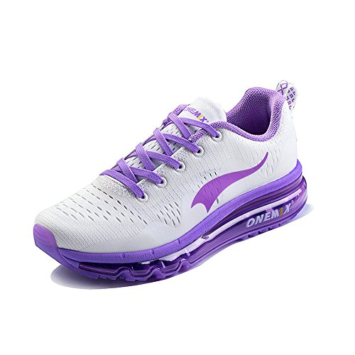 ONEMIX Air Baskets Chaussures de Sport Fitness Running Fitness Gym Homme Femme purple