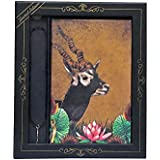 Doodle Exquisite India Wildlife -The Elegant Antelope Diary/Notebook with Pendant