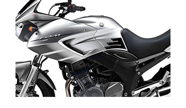 2 Stickers Gel Side Protection Tank Kompatibel Für Motorrad Yamaha Tdm 900 Auto