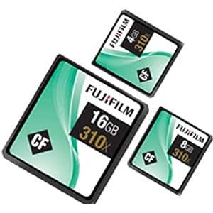 Fujifilm CompactFlash-Speicherkarte, 16GB, 310x, 46,5MB/s