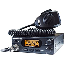 CB Communication de Radio Cb Am/Fm President Teddy