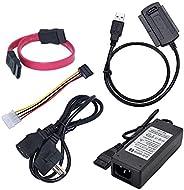 SATA - IDE إلى محول USB 2.0