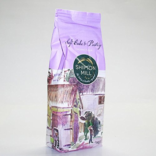 Shipton Mill Soft Cake and Pastry White Flour 1kg x 6
