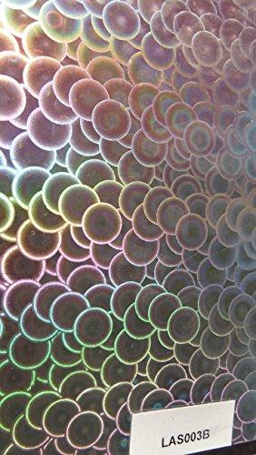 Preisvergleich Produktbild NEU!! Wassertransferdruck Folie Regenbogen Laserfilm Laserfolie Holographic 1 Meter x 50cm Breite Watertransferprinting Wassertransferdruckfilm LAS003B