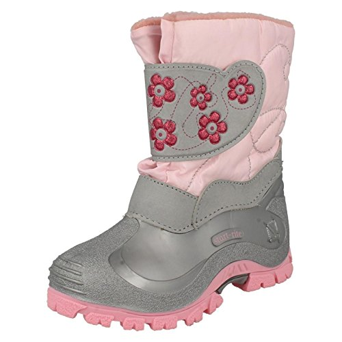 Ragazza Startrite neve stivali neve petali, rosa (Pink), 32 EU