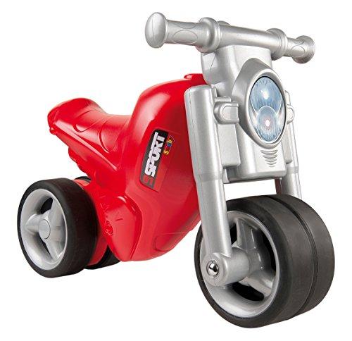 Smoby - 770119 - Porteur Moto Enfant - Roues Silencieuses - Véhicule Enfant - Rouge