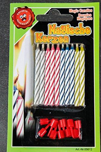 blutende Kerzen 2er Pack