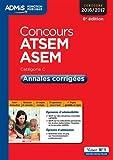 Concours ATSEM ASEM - Catégorie C : Annales corrigées