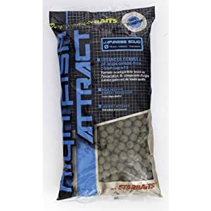 BOUILLETTES HIGH FISH ATTRACT JAPANESE SQUID 20MM 1KG - STARBAITS