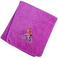VORCOOL Toallas de algodón de enfriamiento para Sports Gym Yoga Running - Púrpura (25x110cm)