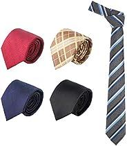 Neckties for Men, 5 PCS Segarty Classic Fashion Business Men's Tie Set Silk Jacquard Woven Wedding Neck Ti