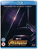 Picture Of Avengers Infinity War [Blu-ray] [2018] [Region Free]