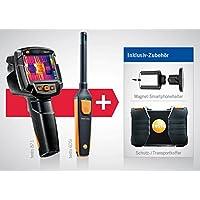 Wärmebildkamera testo 871 und testo 605i - Hygrometer und Wärmebildkamera-Set inklusive Koffer und Kleinschmidt GmbH Magnet-Smartphonehalter