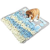 Sunnyshinee Dog Training Mat,Dog Feeding Mat Pet Training Pad Non Slip Pet Activity Mat (L)