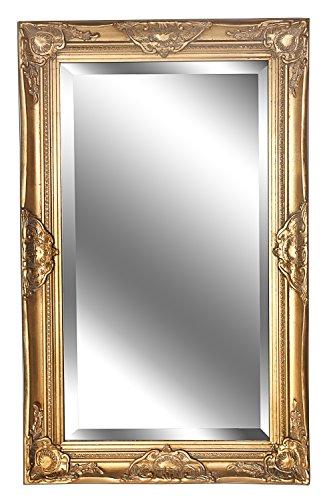 B.U.S. Wohnstyle Spiegel Wandspiegel antik Gold Barock Dana 80 x 50 cm