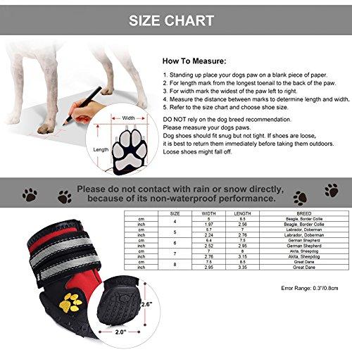 Wasserdichter Pfotenschutz für Hunde – Anti-Rutsch - 6