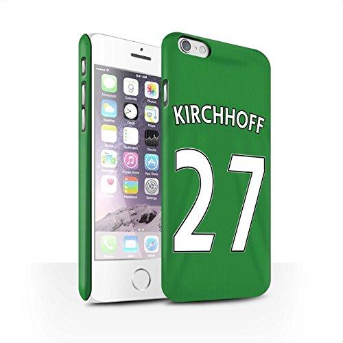Offiziell Sunderland AFC Hülle / Matte Snap-On Case für Apple iPhone 6S / Pack 24pcs Muster / SAFC Trikot Away 15/16 Kollektion Kirchhoff