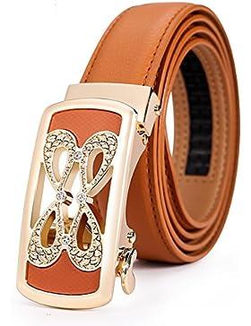 Simple Cinturón Todo A Juego/Correa Decorativa De La Manera/Cinturón De Hebilla Automática-A 100cm(39inch)