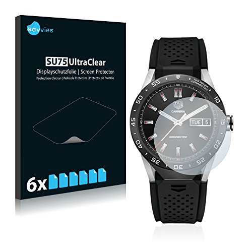 6x-savvies-film-protection-pour-tag-heuer-connected-protection-ecran-film-protecteur-transparent
