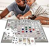 Augproveshak Sequence Strategy Game, Tischspiel, Pattern Big Chess Board Game, Englisch Und Arabisch Sequence Game Chess Family