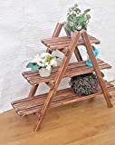 Generic Regal für Pflanzen, Blumen, Holz, rustikal, Regalbrett, Regalbrett, Holzregal